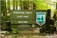 Federation Forest sign