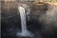 Palouse Falls vista, waterfall above
