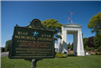 Peace Arch memorial and plaque
