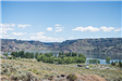 Steamboat Rock panoramic view of lake and camping area
