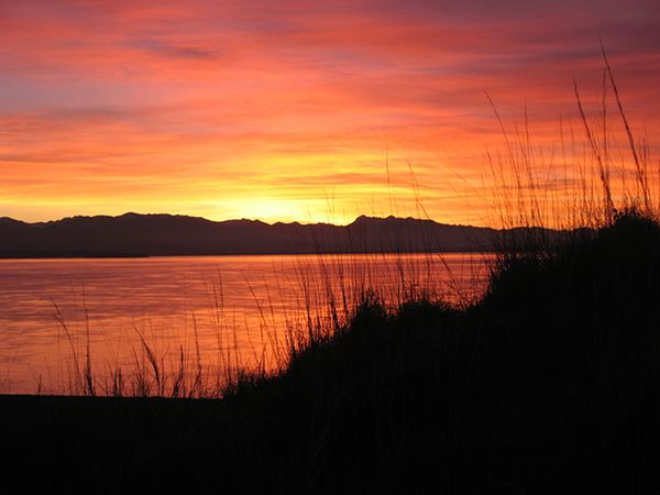Fort Ebey sunset
