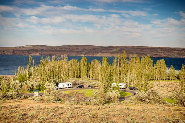 Wanapum Recreation Area campground