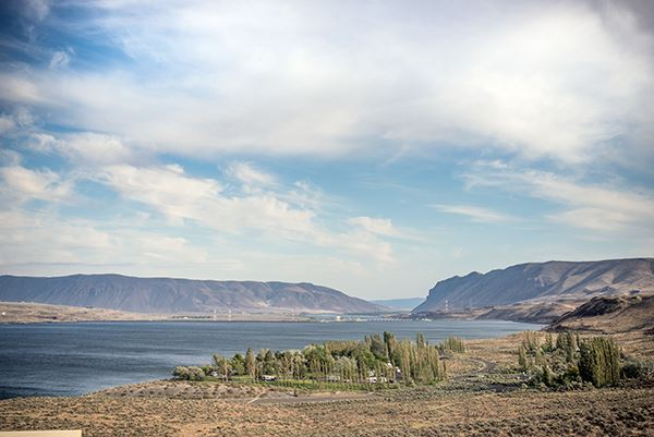 Wanapum Recreation Area overview Columbia River