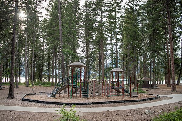 Lake Wenatchee play structure