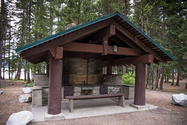 Lake Wenatchee shelter