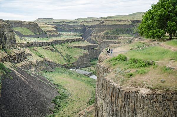 Palouse Falls visitor overlook