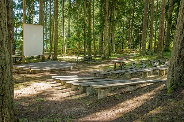 Sequim Bay amphitheater