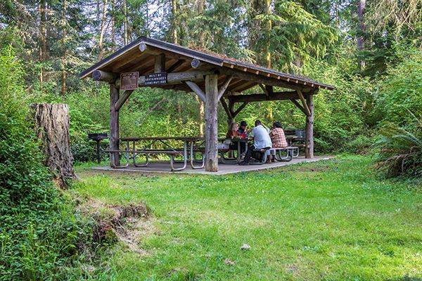 South Whidbey picnic shelter