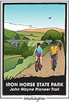 Iron Horse State Park Trail