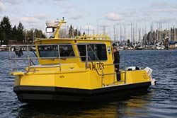 WALTER -  Washington's All-equipped Law Enforcement Training & Education Resource boat
