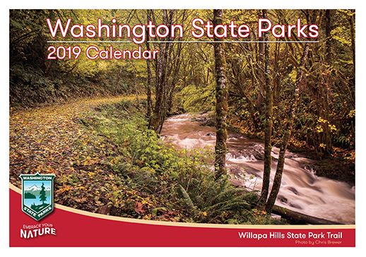 2019 Washington State Parks Calendar Cover Image