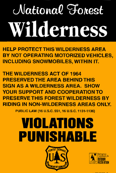 National Forest Wilderness