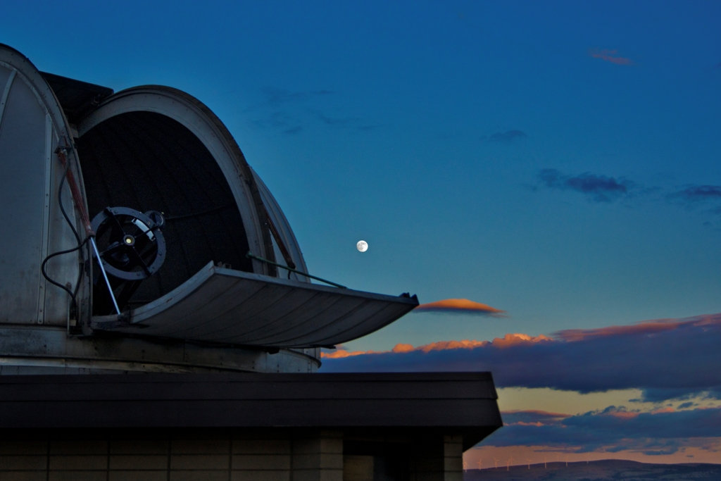 Goldendale Observatory Supermoon