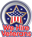 We Hire Veterans logo