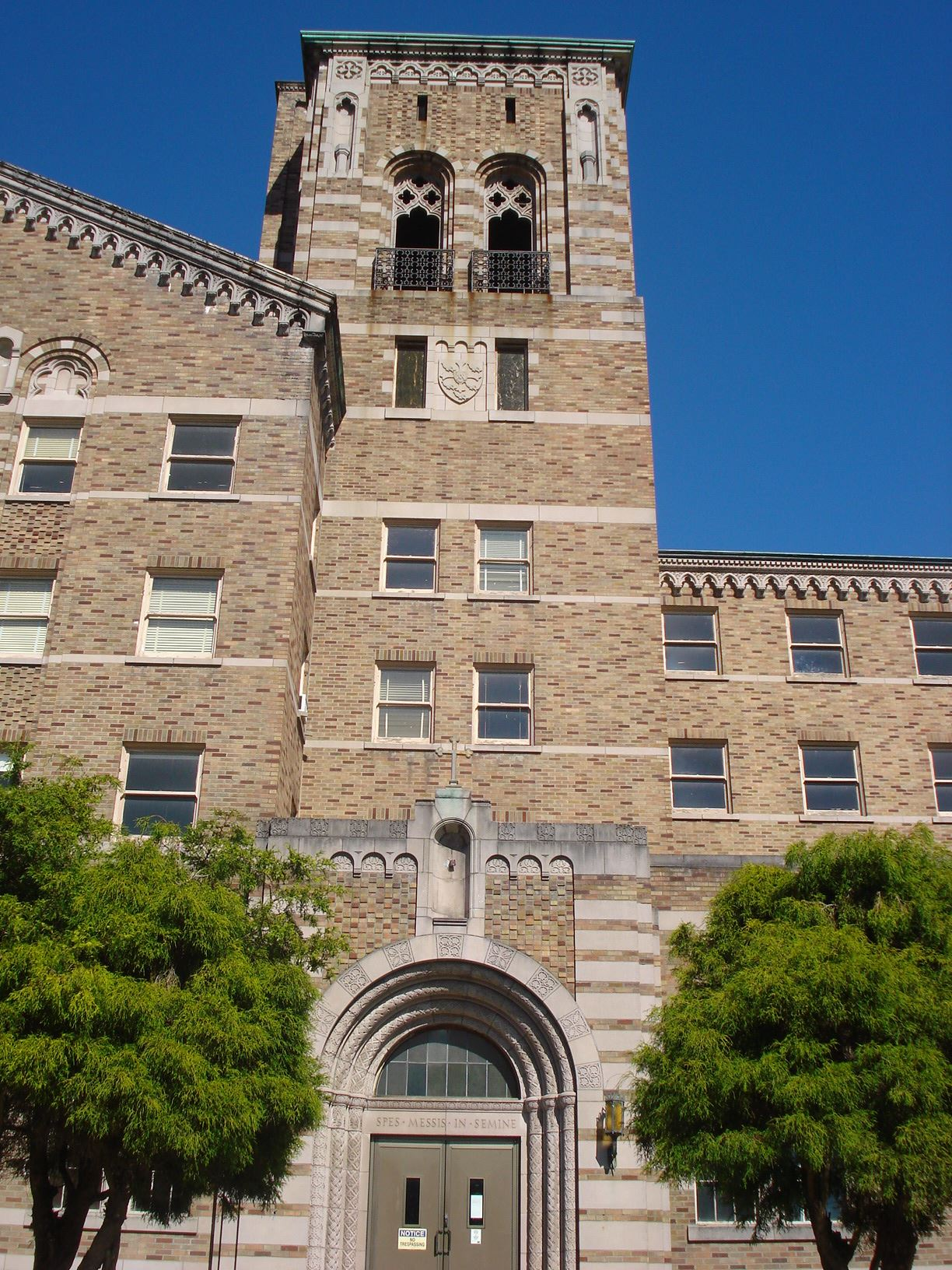 Saint Edward seminary building