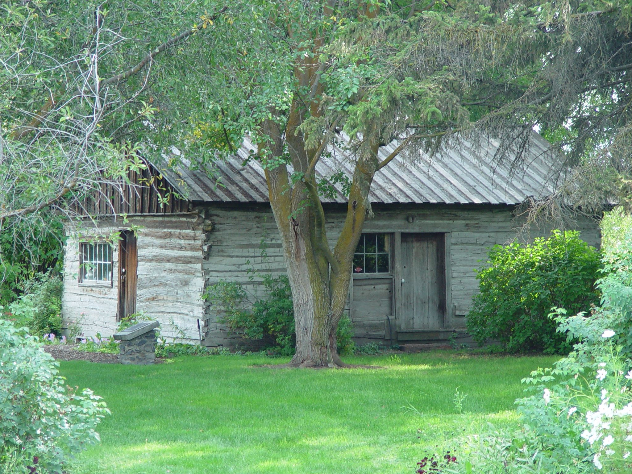 Olmstead Place- 1876 cabin
