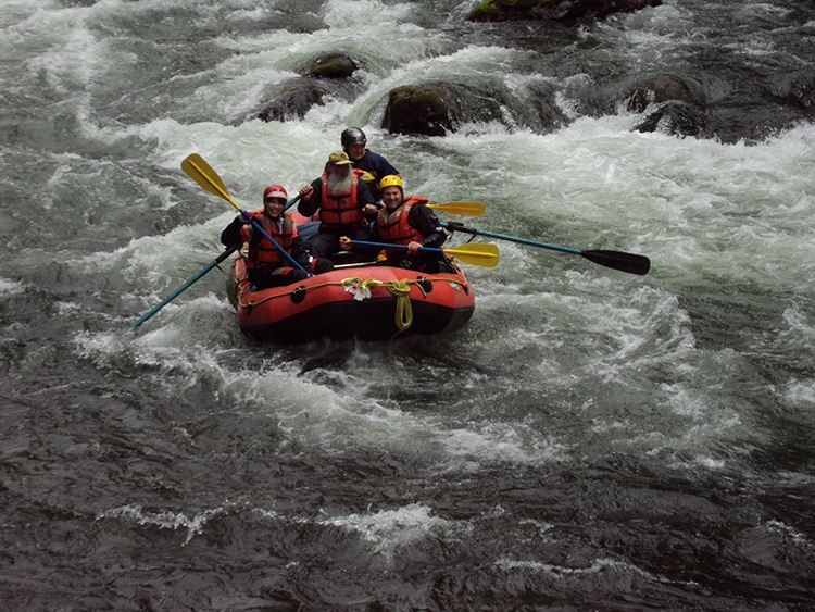 Green River Gorge rafting