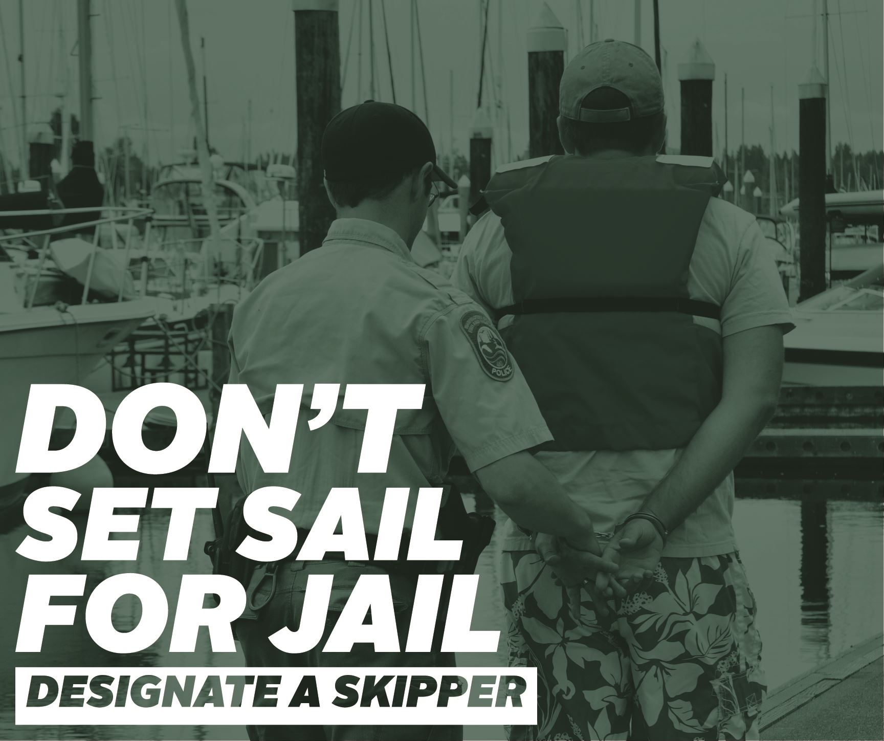 Dont set sail for jail