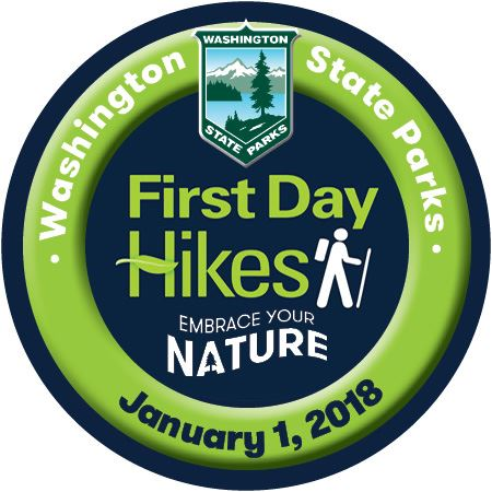 First Day Hikes 2018 button image