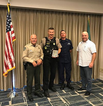 King County Deputy Bedker, Marine Law Enforcement Officer of the Year