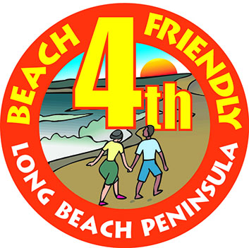 Beach-Friendly Fourth logo
